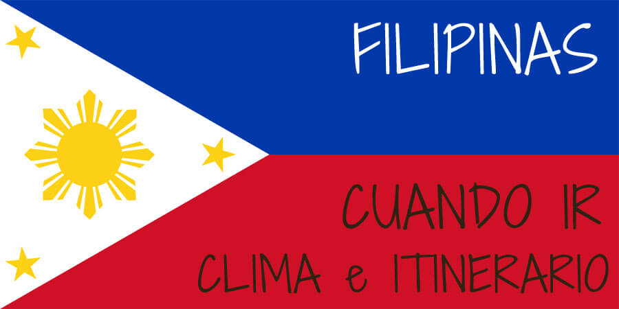 cuando ir clima itinerario filipinas