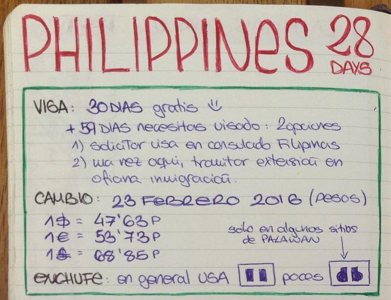 visas vacunas Filipinas