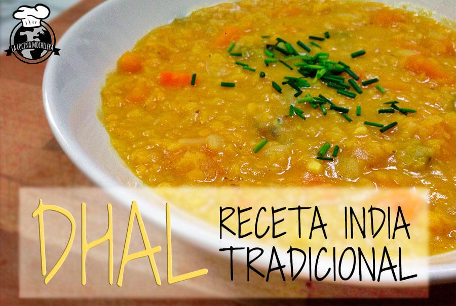 receta india dal