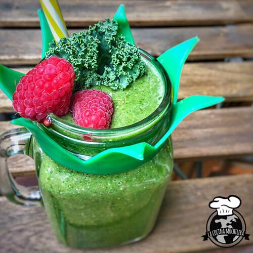 batido verde kale