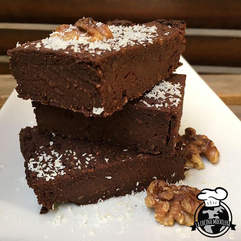 brownie vegano de batata