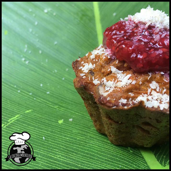muffins paleo rellenas