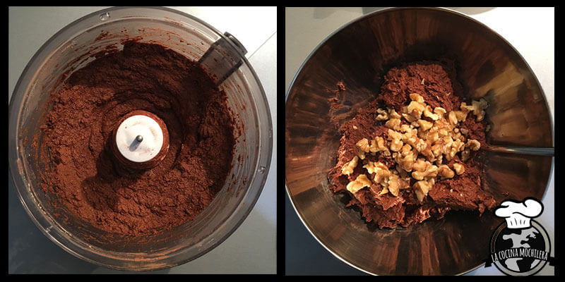 brownie final proceso