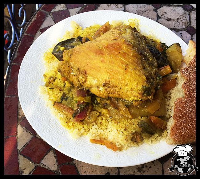 plato couscous pollo