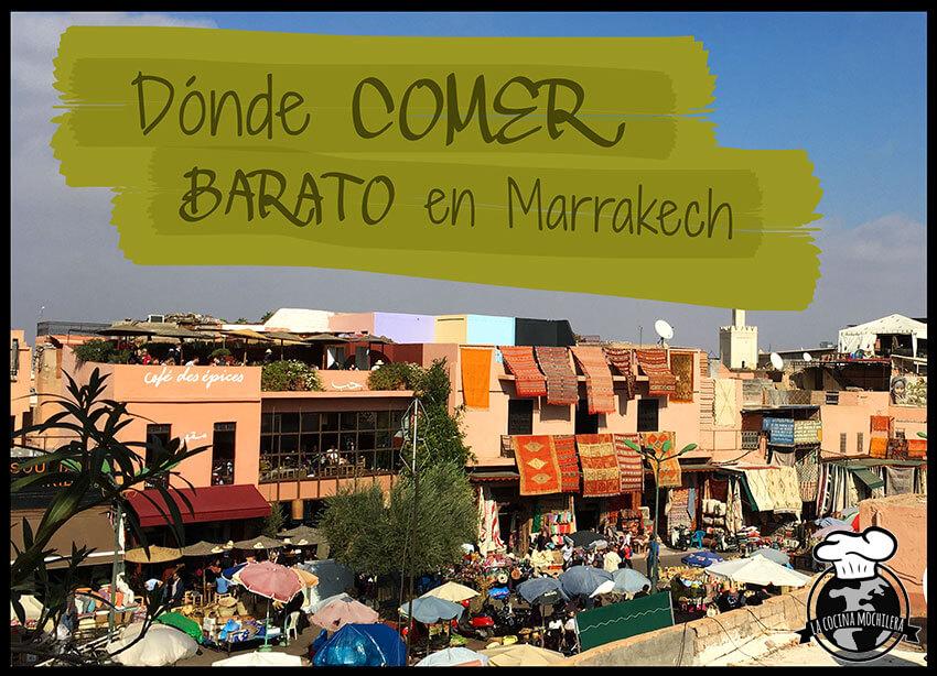comer barato en marrakech