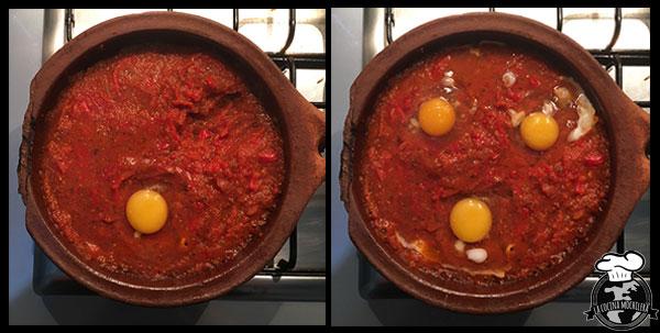 hueco para los huevos