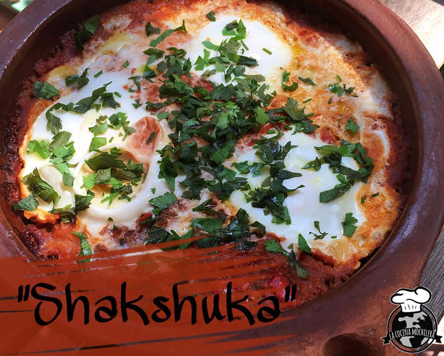 receta de shakshuka presentación