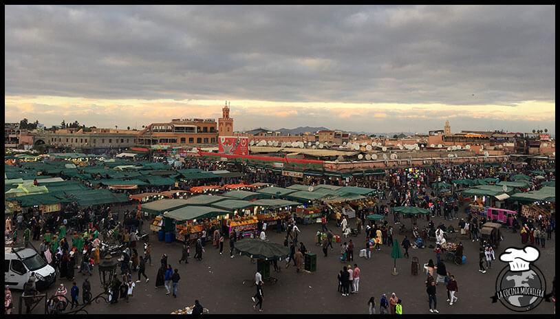 consejos para viajar a Marrakech la plaza
