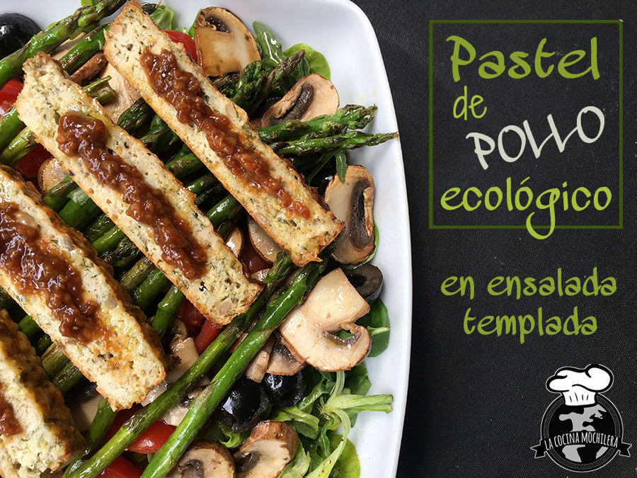 Pastel de pollo ecológico