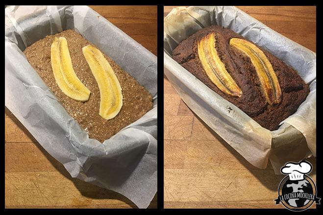 resultado pan de plátano