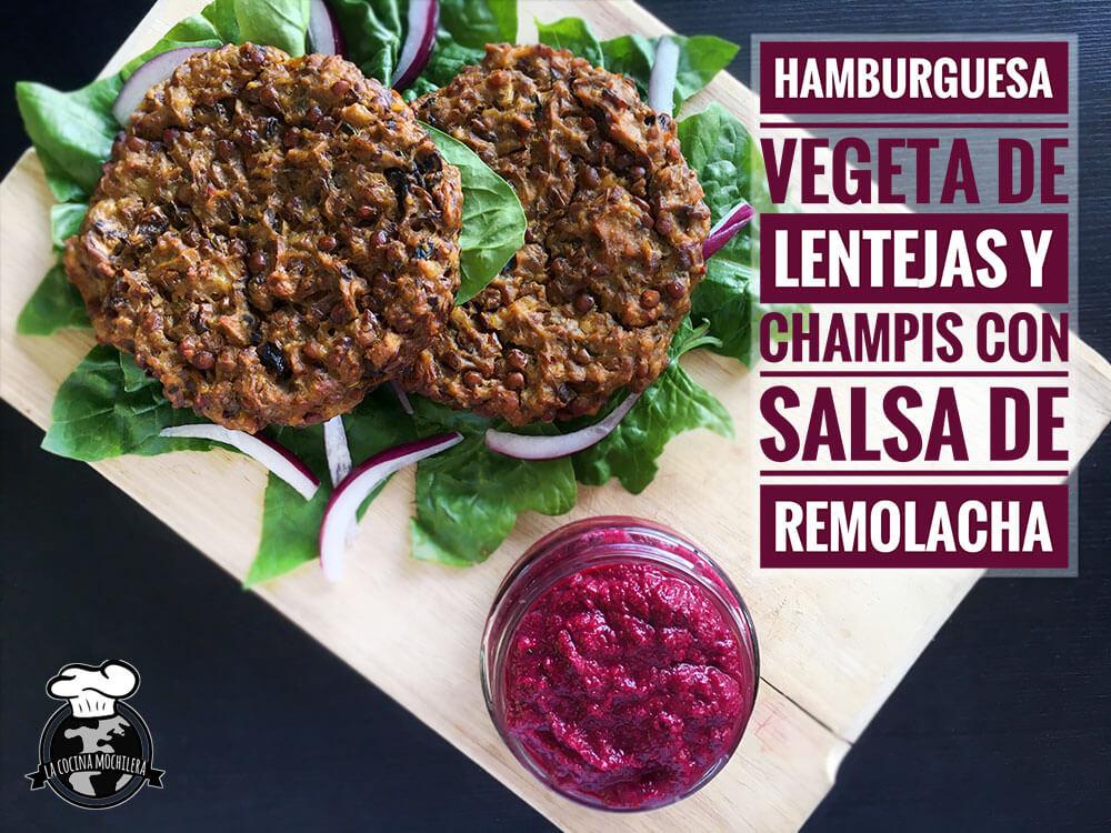 presentación hamburguesa vegetal