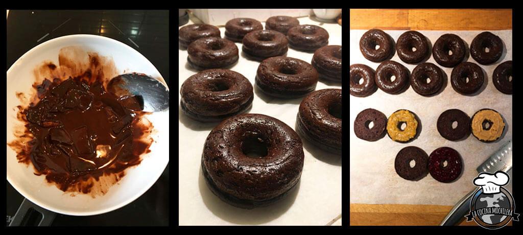 como hacer donuts sanos