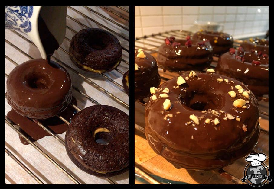 donuts sanos rellenos